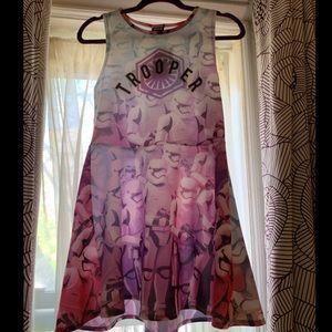 NWT STAR WARS STORM TROOPER DRESS!